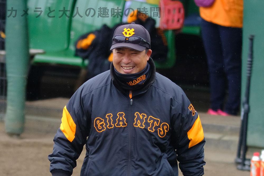 村田修一コーチ