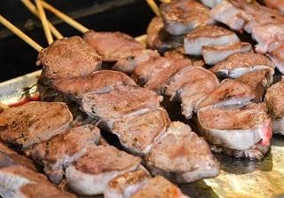 豚タン塩串焼き