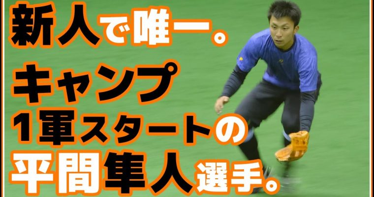 巨人育成ドラフト1位平間隼人選手のまとめ動画。
